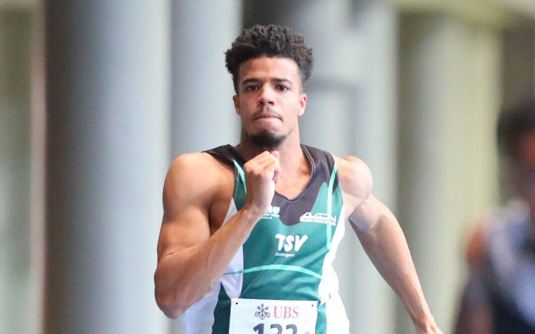 David Naki: Vereinsrekord über 100m und 200m!