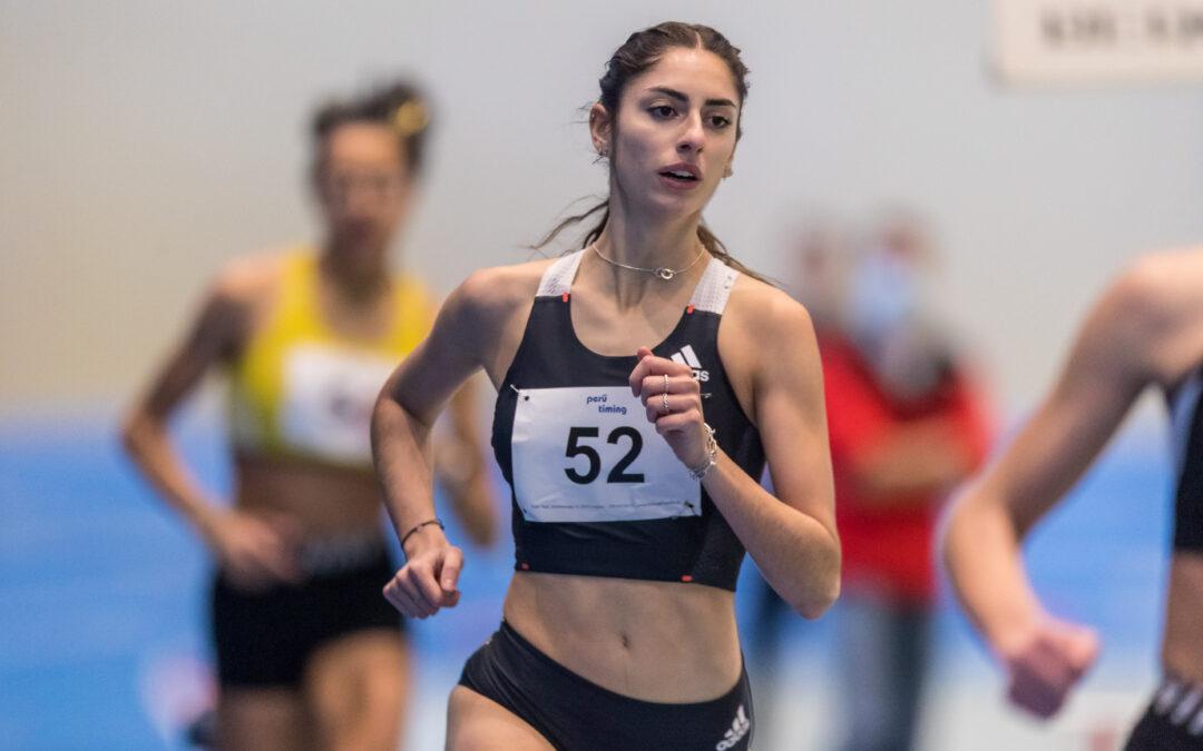 Veronica läuft Freiburgerrekord über 800m!