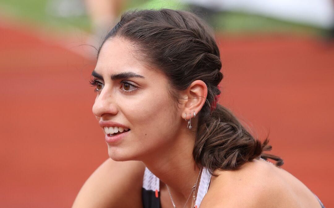 U23 EM Limite für Veronica Vancardo über 400m